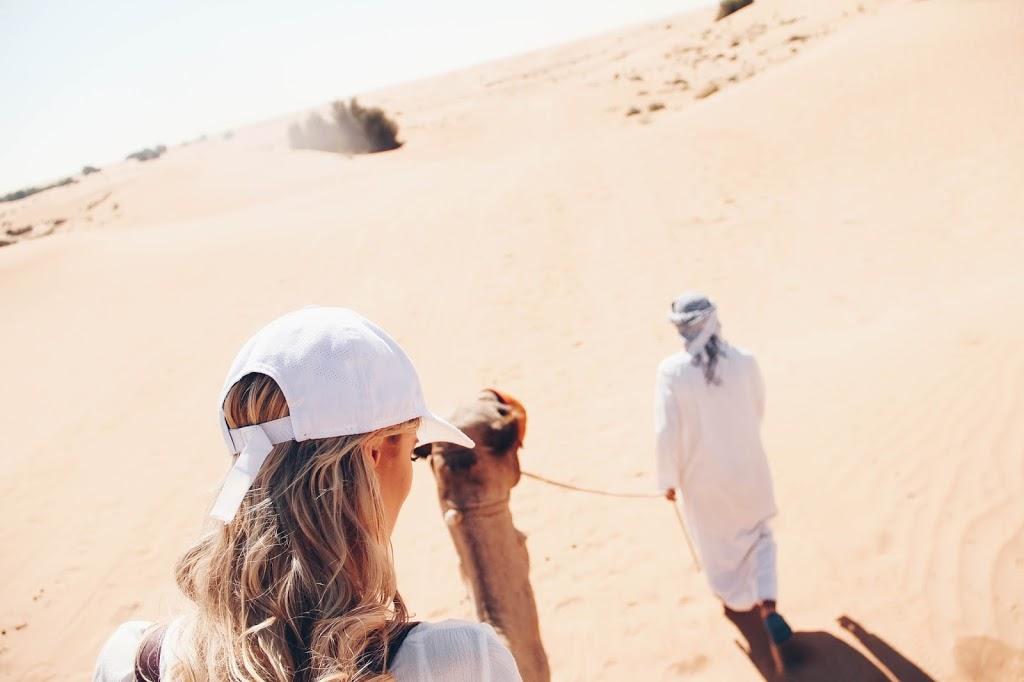 Desert safari trip in Dubai