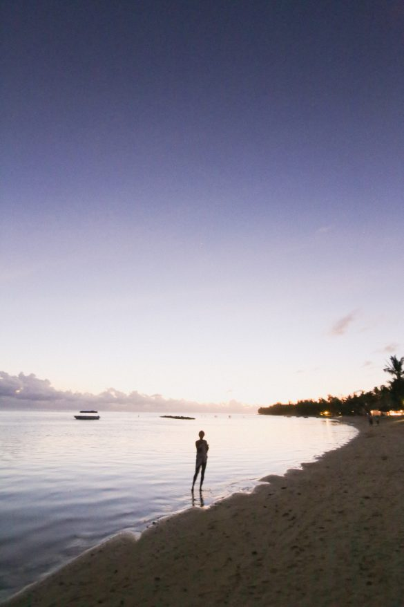 Staying at Heritage Le Telfair in Mauritius.