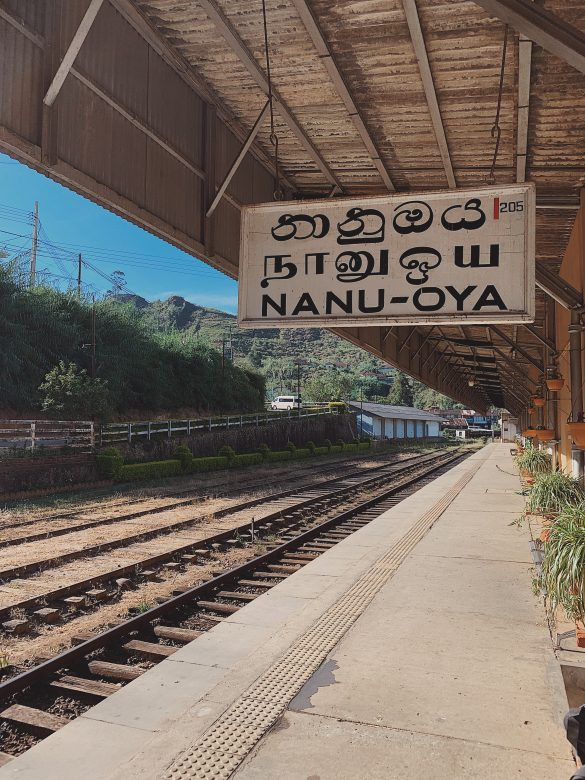 Nanu Oya Train Station