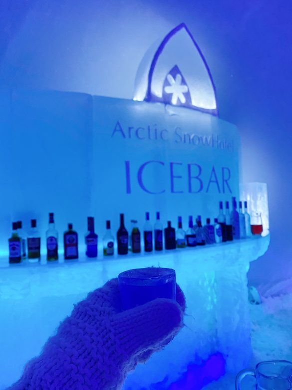 ice arctic snow hotel