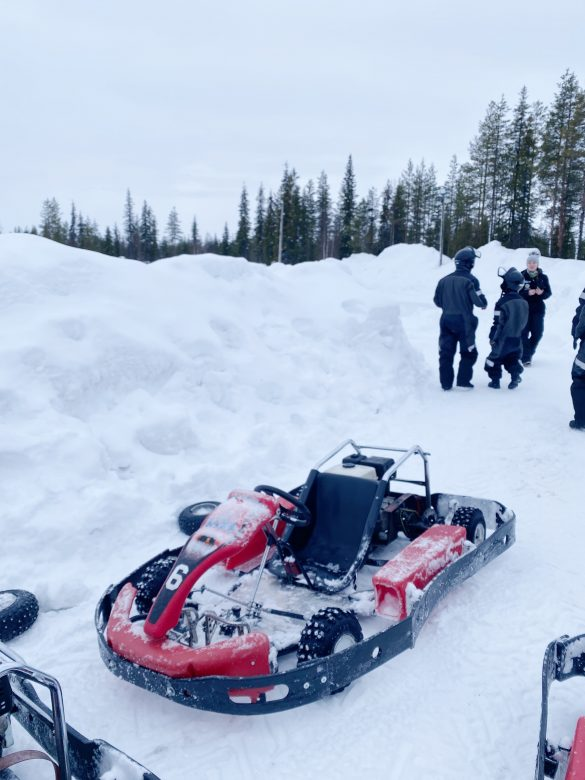 levi ice karting